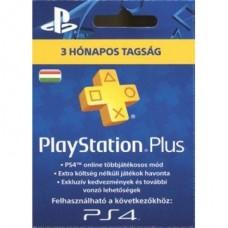 SONY PSN PlayStation Plus 90 napos feltöltőkártya (PS4), új cikkszám