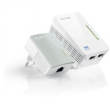 TP-LINK Homeplug AV500 Wireless N Powerline Range Extender 300Mbps 2 port Starter Kit