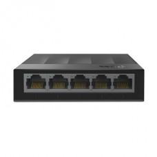 TP-LINK Switch 5x1000Mbps, Műanyagházas Asztali, LS1005G