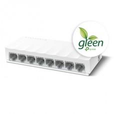TP-LINK Switch 8x100Mbps, Műanyagházas Asztali, LS1008