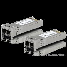 UBiQUiTi SFP modul - UF-MM-10G - U Fiber, Multi-Mode, LC, 10Gbps SFP+, 300m, 2db - csak kettesével rendelhető
