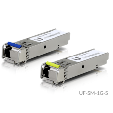 UBiQUiTi SFP modul - UF-SM-1G-S - U Fiber, Single-Mode, LC, 1,25Gbps SFP, 3Km, BiDi, 2db - csak kettesével rendelhető
