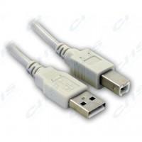 WIRETEK kábel USB Összekötő A-B, 1.8m, Male/Male