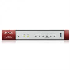 ZYXEL Tűzfal 4xLAN/DMZ(1000Mbps) + 1xWAN + 1xSFP + 1xUSB Rackes + 1 év UTM Bundle, ATP100-EU0102F