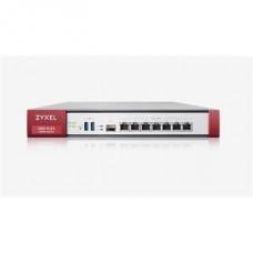 ZYXEL Tűzfal 1xWAN (1000Mbps) 4xLAN/DMZ (1000Mbps) 1xSFP, 1xUSB 3.0, USGFLEX100W-EU0101F